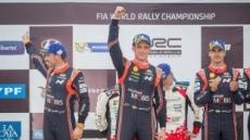 현대차 월드랠리팀, WRC 아르헨티나 랠리서 '더블 포디움' 달성