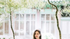 한채아 차세찌 결혼사진 공개…5월 신부 클래스