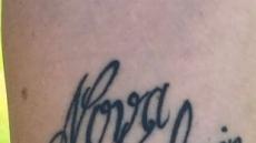 '케빈'이 '켈빈'으로…문신 실수에 아들 이름 바꾼 엄마