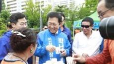 [지방선거]박남춘 민주당 인천시장 후보, 주말 개소식ㆍ체육대회 참석 '분주'