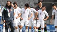 신태용號, 답답한 경기력…볼리비아 1.5군에 0-0 무승부