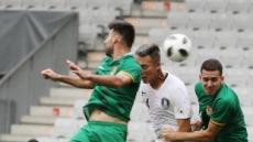 한국축구 기회도 많았다…집중력 문제라서 다행