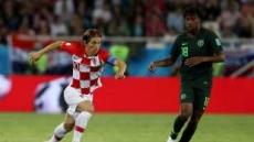 크로아티아, 나이지리아 2-0 승리…모드리치 '경기 MVP'