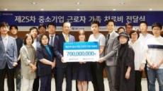 [포토뉴스]IBK기업銀, 중기 근로자 가족 치료비 지원