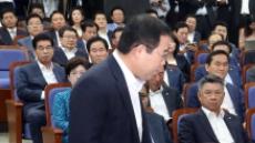 한국당 의총, 친박ㆍ비박 갈등 폭발