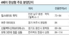 '4베이' 판상형이 대세…분양시장 청약률 '쑥'