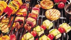 '캠핑의 계절' 여름' 고기없는 바비큐'가 뜬다