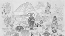 [지상갤러리] 차영석, An Elegant Endeavour_139, 한지에 연필, 137×200 cm, 2018