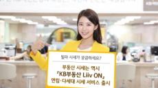 KB국민은행, 연립ㆍ다세대 시세 서비스 '리브온'에 탑재