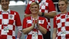 월드컵보다 '크로아티아 대통령'…미모도 '우승감'
