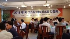 코스닥협회, 코스닥 애널리스트 간담회 개최