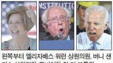 워런·샌더스·바이든 등 '잠룡' 두각…美 민주당 대선레이스 벌써 '후끈'