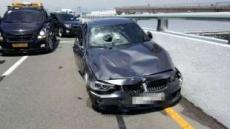 '김해공항 BMW' 사고 직전 시속 93.9㎞…최대는 131㎞
