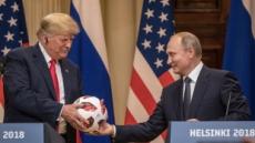 """푸틴 """"한반도대화 트럼프 덕분""""…트럼프 """"北비핵화 협력 확신, 쌩큐"""""""