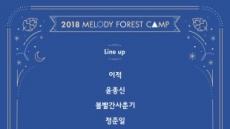 멜포캠 최종 라인업 공개..이적·윤종신부터 볼빨간·10cm까지