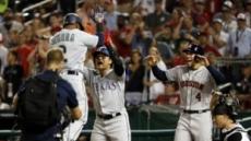 추신수, 한국타자 첫 안타+득점… MLB 올스타전 8회 대타