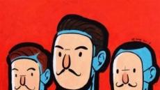 [지상갤러리] 성낙진, 매스게임, Acrylic on canvas, 53×40.9cm, 2018