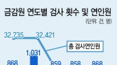 """금감원 """"종합검사 부활하면 부문검사 준다"""""""