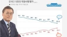 '진보층 이탈' 靑ㆍ與 동반 하락세 지속