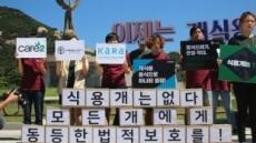 세계시민 88만명 '한국 개식용 금지 청원' 서명