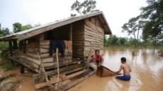 댐붕괴 사고 라오스에 몰아닥친 폭우ㆍ홍수 …실종자 수색 중단