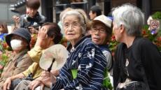 일본100세 이상 고령자 7만명 '사상최다'…88%가 여성