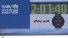 케냐 킵초게, 男마라톤 세계新…2시간01분40초