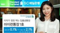 입출금+정기예금 장점 결합 '마이런통장 1호'