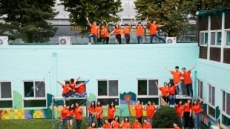 미래에셋박현주재단 장학생, 벽화 그리기 봉사활동 진행