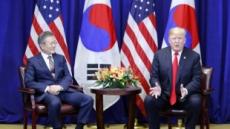 """文대통령 """"북핵 포기, 北 내부서도 되돌릴 수 없이 공식화"""""""