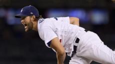 커쇼, 8이닝 무실점 완벽한 호투...다저스, 애틀랜타 꺾고 NLDS 2연승
