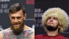 맥그리거-하빕 UFC 타이틀전 중계…맥그리거 절체절명 고비