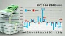 """외국인 매도행렬 '비상'…""""내년이 더 걱정"""""""
