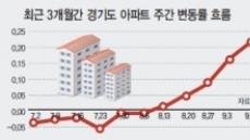 '풍선효과' 경기도…집값 상승세 뚜렷