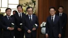 '눈물의 금귀월래' 박지원 의원 부인상…여야 정치인 애도행렬