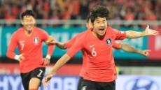 [한국-파나마]박주호 선제골…한국,파나마에 1-0 리드