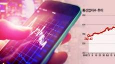 하락장서도…5G 탄 통신株 '대세상승'