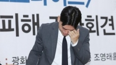 """""""김창환, 중학생 이석철에 담배강요""""…더이스트라이트 기자회견"""