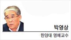 [문화스포츠 칼럼-박영상 한양대 명예교수] 좀스런 지도자들…