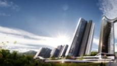 HDC현산 GS건설, 은행 주공에 혁신 설계 적용한 명품 아파트 출사표