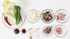 시원한 '배추 짬뽕탕'변비·대장암 예방푸른잎은 면역력 강화