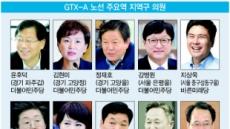 GTX-A 주요역 지역구 의원 눈길잡네