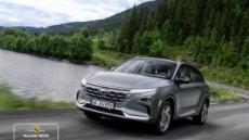 현대차 수소전기차 넥쏘, 유럽서 가장 안전한 SUV에 선정