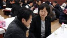 이정미 대표, 단식 마치고 고(故) 김용균 씨 조문