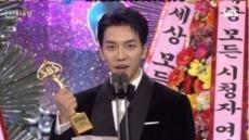 2018 SBS연예대상, 이승기가 울먹인 까닭
