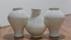 [지상갤러리] 김준명, Top&Bottom, 2015, Ceramic, 89×33×45cm