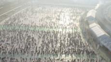 '화천 산천어축제는 '물고기 무덤', 어묵공장으로…동물운동단체 첫 시위