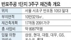 재입찰 반포 3주구…대형건설사 '물밑 눈치게임' 돌입