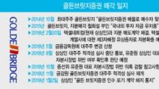 KTB투자證, 골든브릿지증권 인수 추진