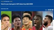 아시안컵 '최고의 골' 톱10에 한국은 없다